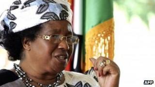 Joyce Banda (file photo)