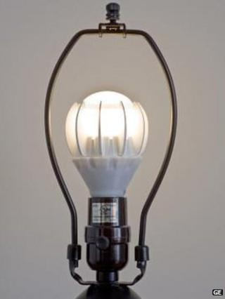 General Electric LED light bulb