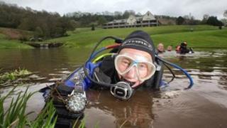Diver Howard Lewis