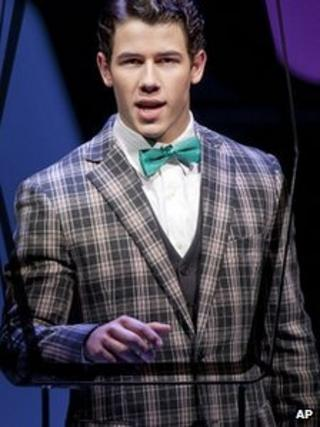 Nick Jonas in How To Succeed in Business Without Really Trying