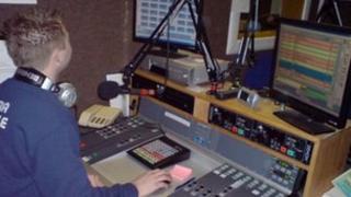 Saint FM studio