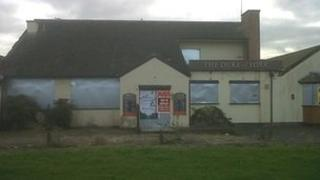 The pub has been boarded up since 2009
