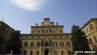 EFSA headquarters in Parma, Italy - file pic