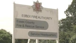 Essex County Fire and Rescue Service sign