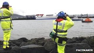 The search in Belfast Lough has been stood down
