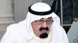 King Abdullah of Saudi Arabia