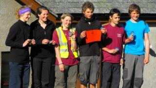 Kingsbridge College 55 Mile team