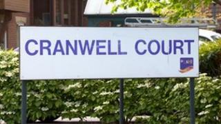 Cranwell Court sign