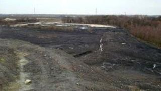 Rossington colliery site