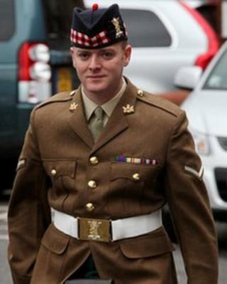 L/Cpl Malcolm Graham of The Royal Scots Borderers, 1st Battalion