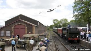 1940s event at the Kent and East Sussex Railway