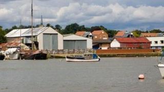 Whisstocks boatyard, Woodbridge