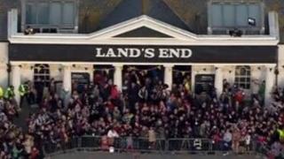 Land's End entrance