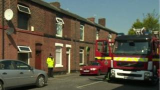 House fire in Radcliffe