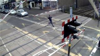 Level crossing in High Street