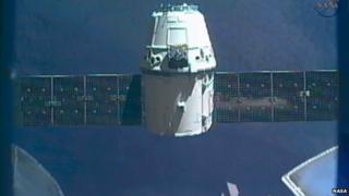SpaceX has reached the ISS