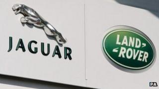 Jaguar and Land Rover emblems