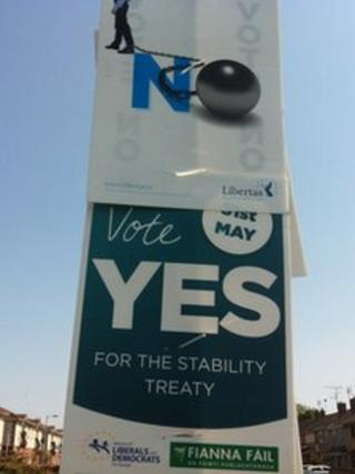 Yes and No posters