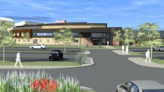Artists's impression of the RUH cancer centre