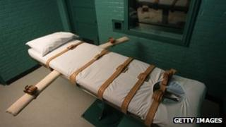 lethal injection death chamber