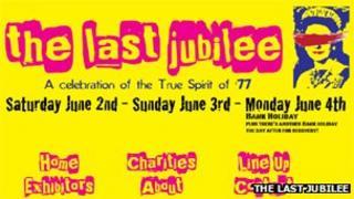 The Last Jubilee festival banner