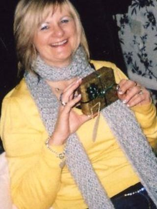 Pauline Smith of St Ives, Cambridgeshire, who was strangled to death by her partner in October 2011