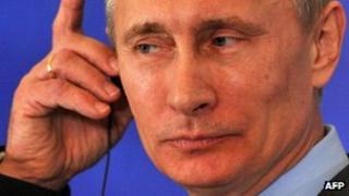 Russian President Vladimir Putin. Photo: June 2012