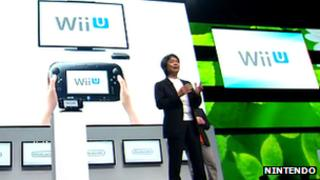 Shigeru Miyamoto at Wii U press conference
