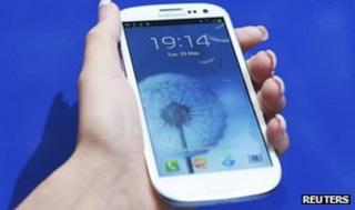 Galaxy S3 smartphone
