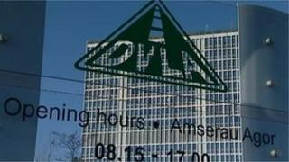 DVLA HQ in Swansea