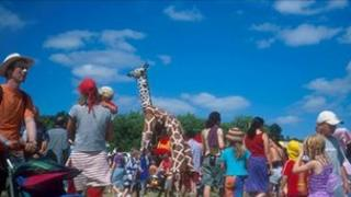 The 20th anniversary of Womad in 2002