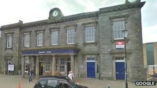 Haymarket train station