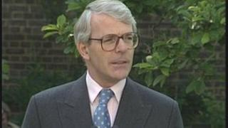 John Major was addressing the Leveson Inquiry