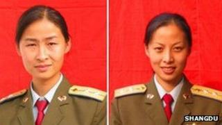 Chinese space candidates