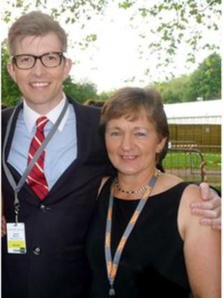 Karen Sharma and Gareth Malone