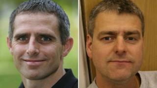 Jim Shears (left) and Alan Bannon