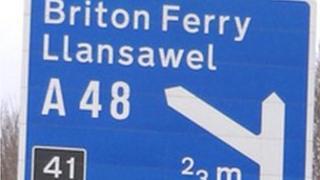 Cyffordd 41, M4