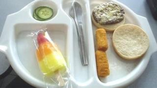 Photo of Martha's school lunch