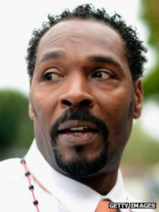 Rodney King April 30, 2012 in Los Angeles, California.