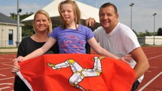 Sophie Birtles with her family