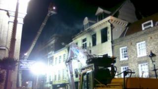Cupola House fire, Bury St Edmunds