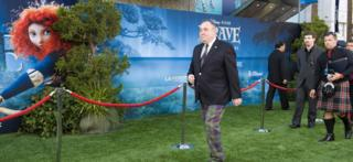 Alex Salmond on the green carpet