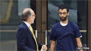 Dharun Ravi leaves prison in North Brunswick, New Jersey, 19 June 2012
