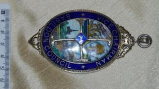 The missing Basildon Council deputy mayoral chain