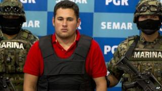 Jesus Alfredo Guzman Salazar, who authorities alleged on 21 June 2012 was the son of El Chapo Guzman