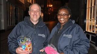 Street Life Pastors in St Peter Port, Guernsey