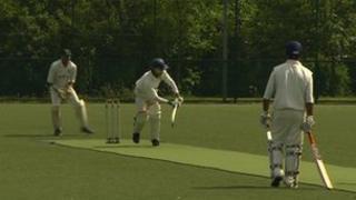 Marathon cricket game