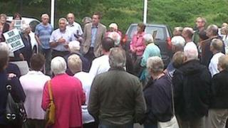 Member of the Save Irchester Village group