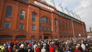 Rangers protest
