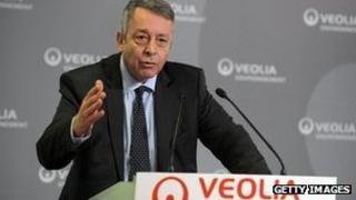 Antoine Frerot, Chief executive, Veolia Environnement
